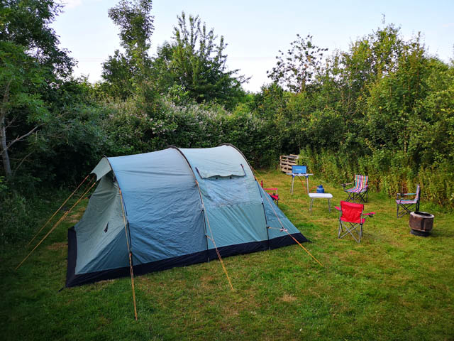 Rent a Tent at Camp Wight