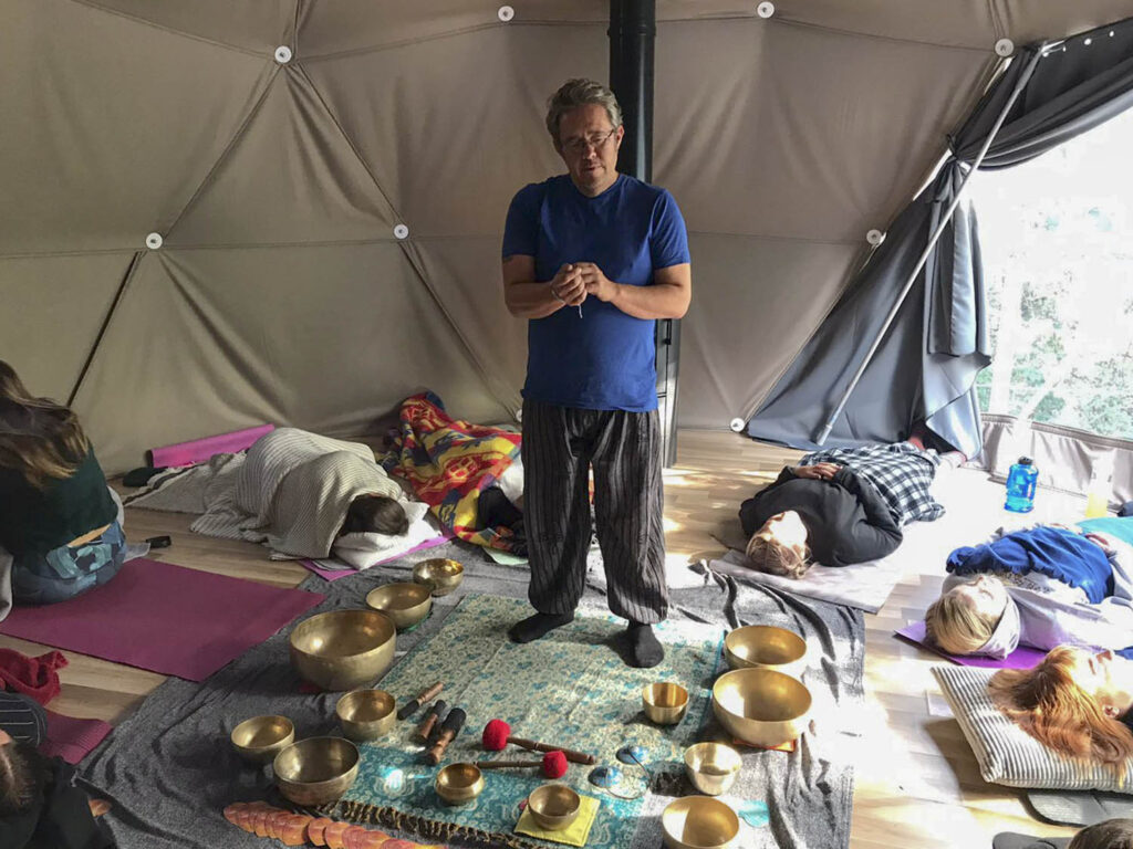 Brian from Tibetan Waves in Oak Dome